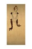 Yvette Guilbert, 1894 Lámina giclée por Henri de Toulouse-Lautrec