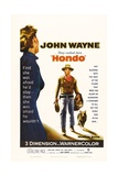 "They Called Him Hondo, 1953, ""Hondo"" Directed by John Farrow Gicléedruk"