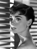 "Audrey Hepburn. ""Sabrina Fair"" 1954, ""Sabrina"" Directed by Billy Wilder Reproduction photographique"