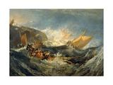 The Wreck of a Transport Ship, 1805 Impressão giclée por J. M. W. Turner