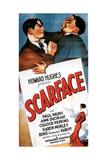 Scarface, 1932, Directed by Howard Hawks Impressão giclée