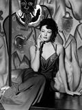 """Gene Tierney. """"The Shanghai Gesture"""" 1941, Directed by Josef Von Sternberg Fotografisk trykk"""