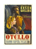 "Othello, 1952, ""The Tragedy of Othello: the Moor of Venice"" Directed by Orson Welles Giclée-vedos"