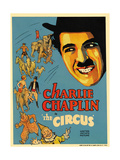 The Circus, 1928, Directed by Charles Chaplin Impressão giclée