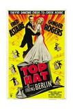 Top Hat, Directed by Mark Sandrich, 1935 Giclée-Druck