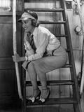 "Gloria Swanson. ""Sadie Thompson"" 1928, Directed by Raoul Walsh Impressão fotográfica"