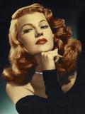 "Rita Hayworth. ""Gilda"" 1946, Directed by Charles Vidor Fotografisk tryk"