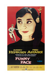 """Audrey Hepburn """"Funny Face"""" 1957, Directed by Stanley Donen Giclee Print"""