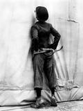 "Charlie Chaplin. ""The Circus"" 1928, Directed by Charles Chaplin Impressão fotográfica"