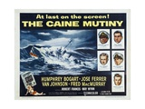 The Caine Mutiny, 1954, Directed by Edward Dmytryk Giclee-trykk