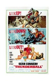 """Ian Fleming's Thunderball, 1965, """"Thunderball"""" Directed by Terence Young Giclée-tryk"""