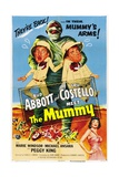 Abbott And Costello Meet the Mummy, 1955, Directed by Charles Lamont Giclée-tryk