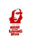 """Night of the Living Dead"" Directed by George A. Romero Giclee-trykk"