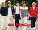 One Direction - Walking Poster