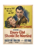 Every Girl Should Be Married, 1948, Directed by Don Hartman Giclee Print