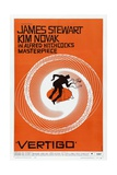 Vertigo, 1958, Directed by Alfred Hitchcock Giclée-tryk