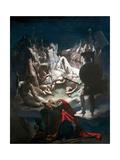 The Dream of Ossian, 1813 Giclée-Druck von Jean-Auguste-Dominique Ingres