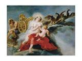 The Birth of the Milky Way, 1636-1637 Gicléetryck av Peter Paul Rubens