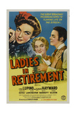 Ladies In Retirement, 1941, Directed by Charles Vidor Impressão giclée