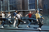 "Russ Tamblyn, Tony Mordente. ""West Side Story"" 1961, Directed by Robert Wise Stampa fotografica"