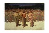 The Fourth State, 1901 Gicléedruk van Giuseppe Pelizza da volpedo
