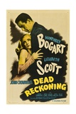Dead Reckoning, 1947, Directed by John Cromwell Reproduction procédé giclée