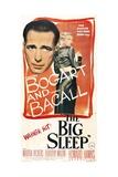 The Big Sleep, 1946, Directed by Howard Hawks Reproduction procédé giclée