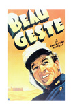 """Beau Geste"" 1939, Directed by William Wellman Giclee Print"