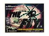 The Fly, 1958, Directed by Kurt Neumann Giclee-trykk