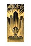 Metropolis, 1927, Directed by Fritz Lang Giclee-trykk