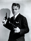 """James Cagney. """"Battle of City Hall"""" 1938, """"Angels With Dirty Faces"""" Directed by Michael Curtiz Impressão fotográfica"""