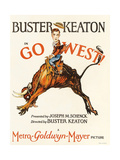 Go West, 1925, Directed by Buster Keaton Giclee Print