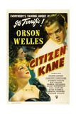 Citizen Kane, Directed by Orson Welles, 1941 Giclée-tryk