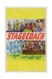 Stagecoach, 1939, Directed by John Ford Gicléedruk