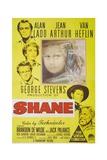 Shane, 1953, Directed by George Stevens Giclée-Druck