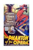 The Phantom of the Opera, 1925, Directed by Rupert Julian Giclée-Druck