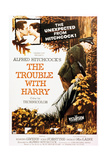 The Trouble With Harry, 1955, Directed by Alfred Hitchcock Giclee-trykk
