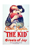 The Kid, 1921, Directed by Charles Chaplin Giclee Print