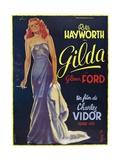 Gilda, 1946, Directed by Charles Vidor Impressão giclée