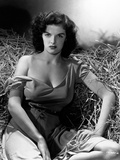 "Jane Russell. ""The Outlaw"" 1943, Directed by Howard Hughes Fotografisk tryk"