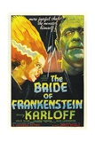 """Frankenstein Lives Again!, 1935, """"Bride of Frankenstein"""" Directed by James Whale Giclee Print"""