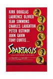 """Spartacus: Rebel Against Rome, 1960, """"Spartacus"""" Directed by Stanley Kubrick ジクレープリント"""