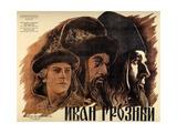 "Ivan the Terrible, Part One, 1944, ""Ivan Groznyj I"" Directed by Sergei M. Eisenstein Gicléedruk"
