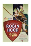 """The Adventures of Robin Hood"" 1938, Directed by Michael Curtiz, William Keighley Impressão giclée"