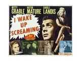 "Hot Spot, 1941, ""I Wake Up Screaming"" Directed by H. Bruce ""Lucky"" Humberstone Giclee Print"
