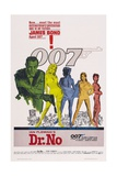 "Doctor No, 1962, ""Dr. No"" Directed by Terence Young Gicléetryck"