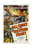 All Quiet On the Western Front, 1930, Directed by Lewis Milestone Impressão giclée