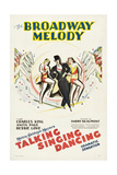 The Broadway Melody, Directed by Harry Beaumont, 1929 Giclee Print