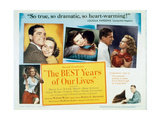 "Glory for Me, 1946, ""The Best Years of Our Lives"" Directed by William Wyler Giclee Print"