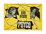 """Wimpy, 1960 """"Psycho"""" Directed by Alfred Hitchcock Giclee-trykk"""